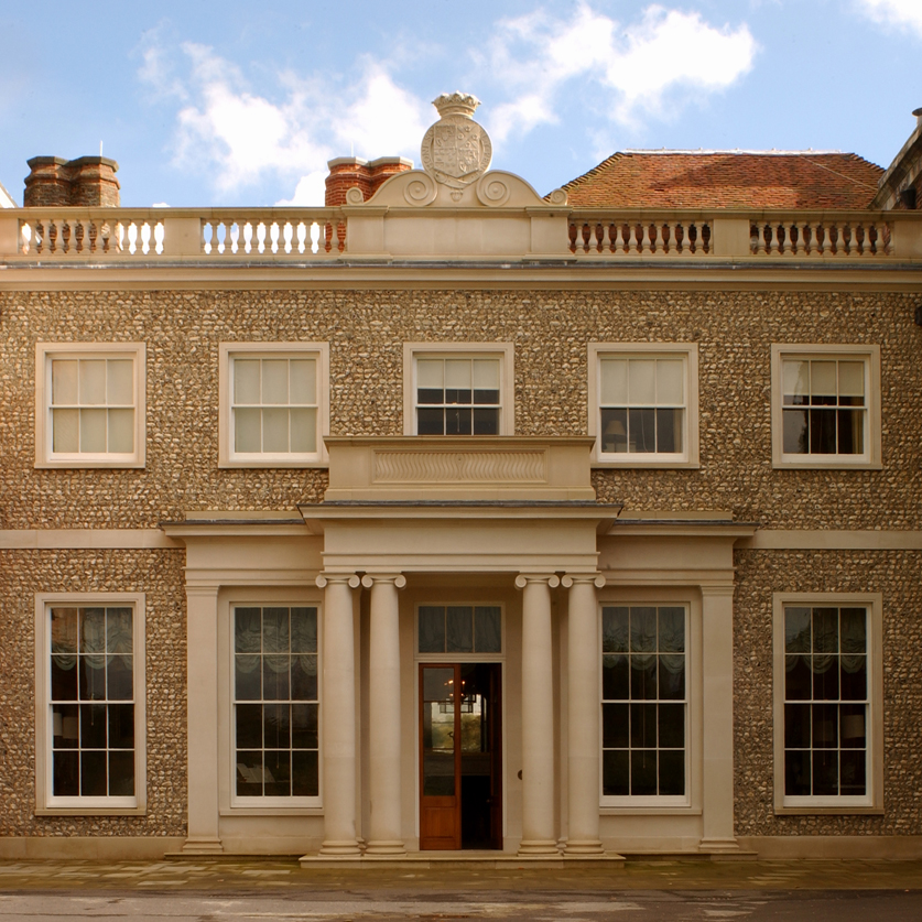 Additions at Goodwood House, West Sussex