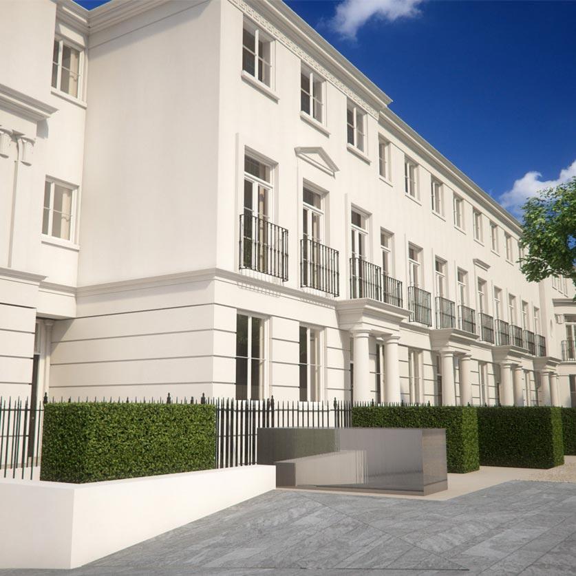 Development of 11 Houses, St John's Wood, London