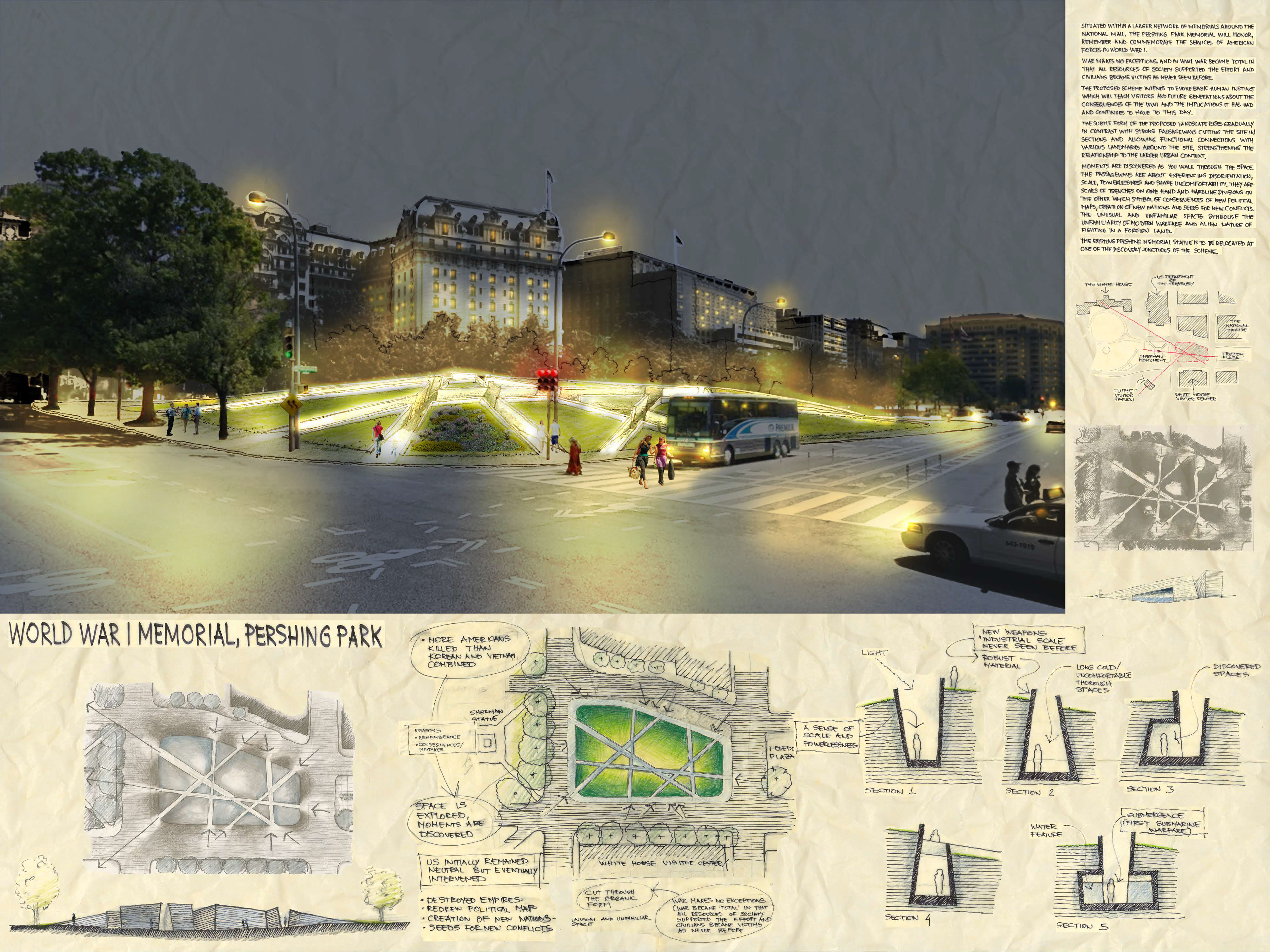 ... Memorial Design Competition. Smallwood Architects ...