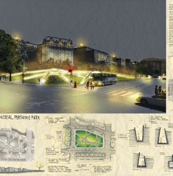 Smallwood Architects Submit Entry for the US National World War One Memorial Design Competition